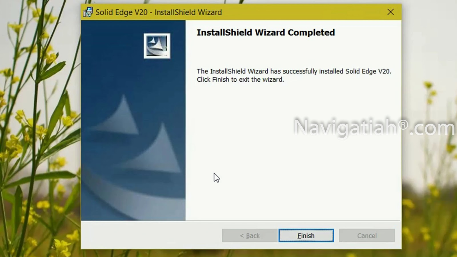 How to download and install SOLID EDGE (CAED SOFTWARE ) on