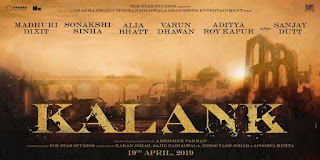 Kalank First Look Poster