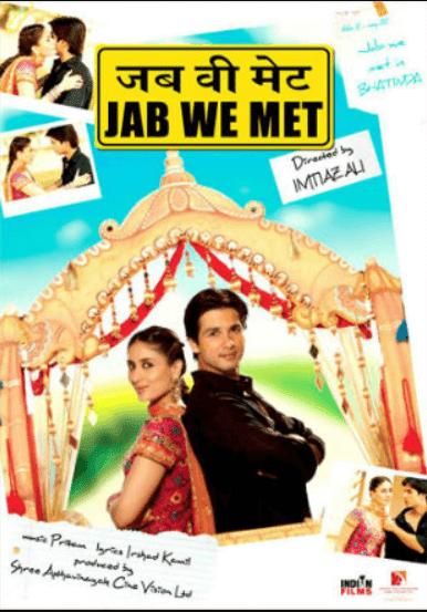 Jab We Met 2007 Full Hindi Movie Download BRRip 720p