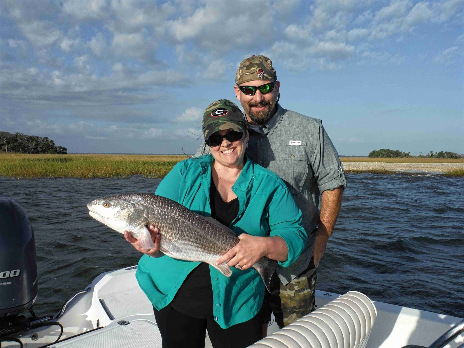Amelia island fishing reports big redfish for big weekend for Redfish fishing tips