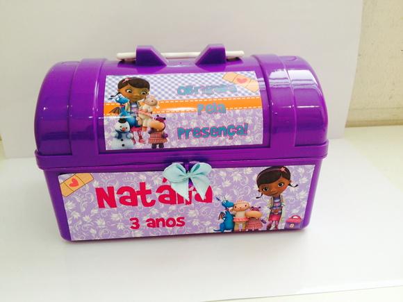 Lembrancinha Doutora Brinquedos Maletinha