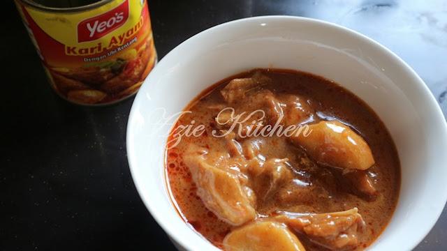 ibu atau yang bujang pening kepala nak masak apa yang mudah kan Lempeng Dengan Kari Ayam Yeo's