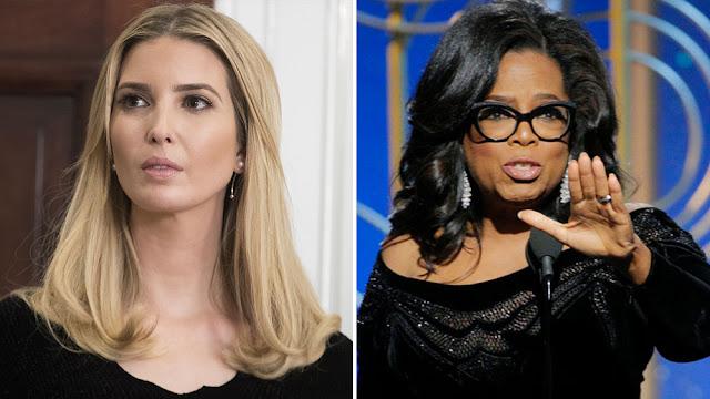 Ivanka Trump praises Oprah's 'inspiring' Golden Globes speech