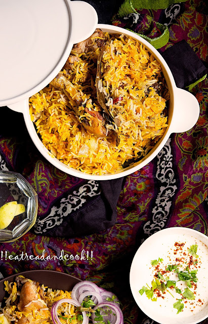 how to cook biryani using pressure cooker