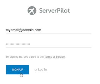 Serverpilot Sign Up