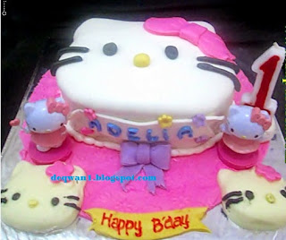 kue ulang tahun hello kity