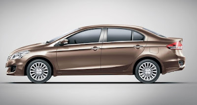 New Maruti Suzuki Ciaz side view