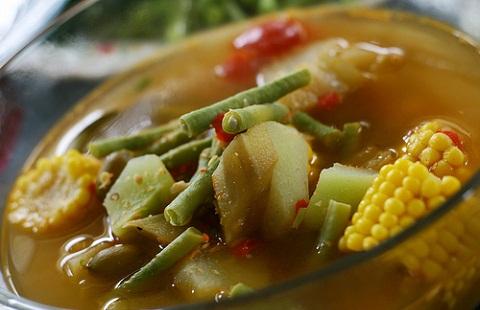 resep cara membuat sayur asem
