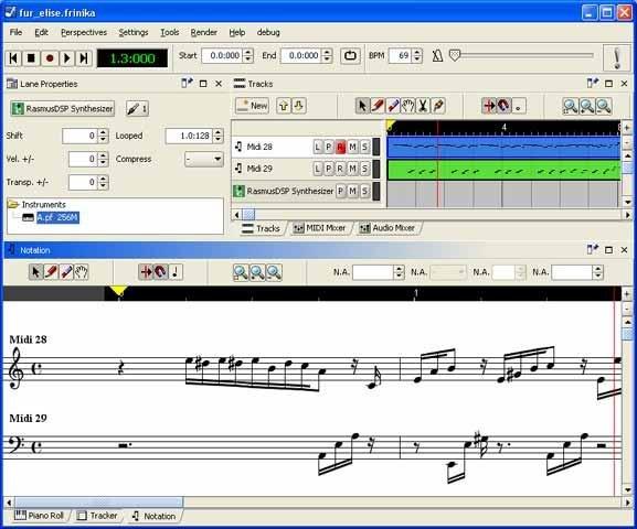 Δωρεάν πρόγραμμα σύνθεσης μουσικής