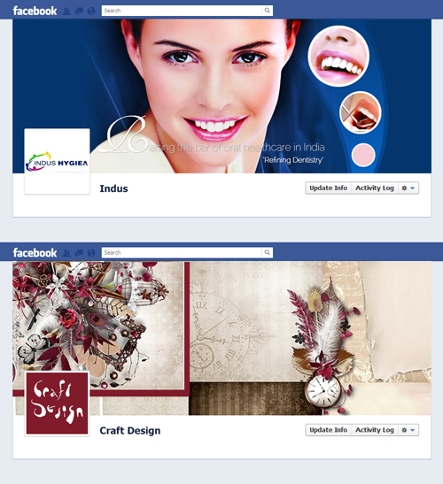 Custom Facebook Pages- Cover Photos