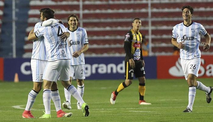 The Strongest 1 - Atlético Tucuman 2 - Resumen - Partido Copa Libertadores