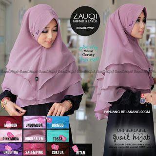 Zauqi - Jilbab Instan