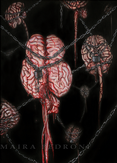 SURREAL MACABRE ART: HORROR PAINTER