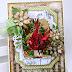 Cardinal Christmas Greeting Card by Ginny
