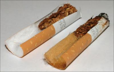 Components cigarette