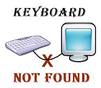 Keyboard tidak terdeteksi