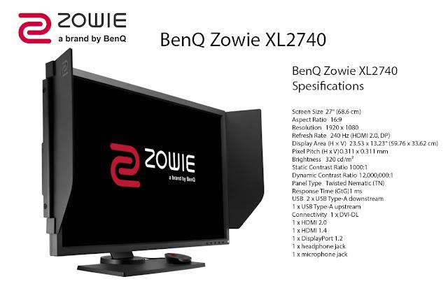 BENQ-ZOWIE-XL2740