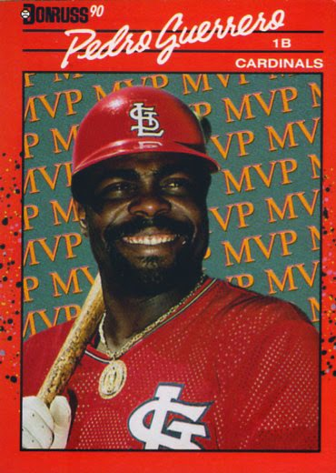 Capewoods Collections Pedro Guerrero Donruss Mvps Cards