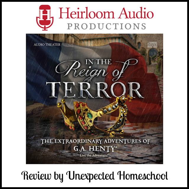 Review of In the Reign of Terror an audio drama from Heirloom Audio Productions