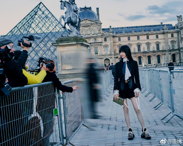 Paris Fashion Week 2018 LV Tang Yan