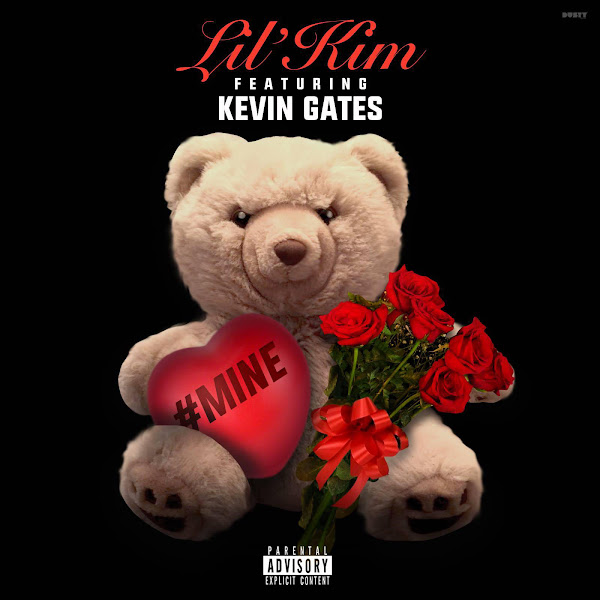 Lil' Kim - #Mine (feat. Kevin Gates) - Single Cover