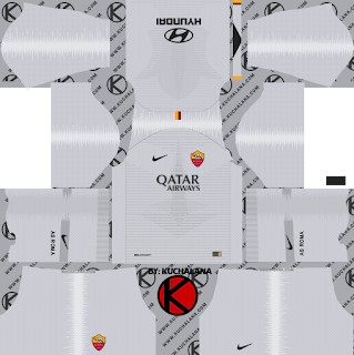 AS Roma 2018/19 Kit - Dream League Soccer Kits