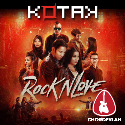 Lirik dan chord I Love You - Kotak