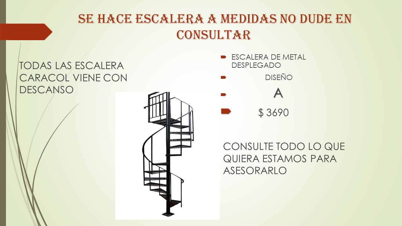 Escaleras Interiores Medidas Amazing Esperia Escaleras Italianas  ~ Dimensiones Escalera De Caracol