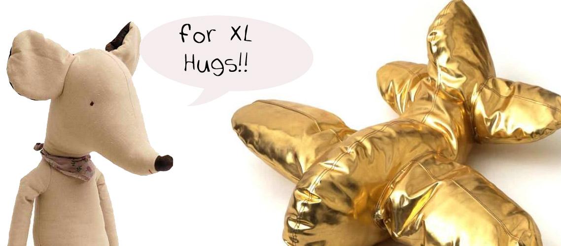 Mega maxi knuffels