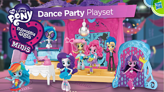 MLP Dance Party Equestria Girls Minis Coming Soon