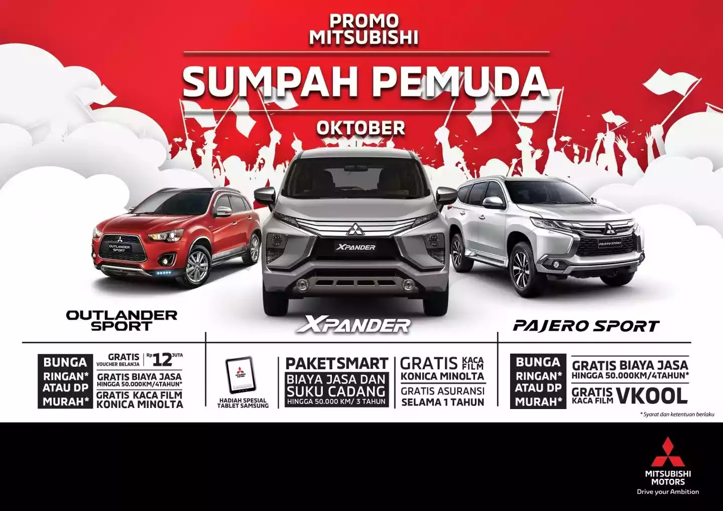 Promo September Celebrate Mitsubishi Bintaro