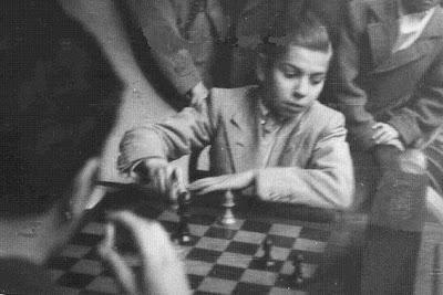 Arturito Pomar en el Campeonato de España de Ajedrez de 1944