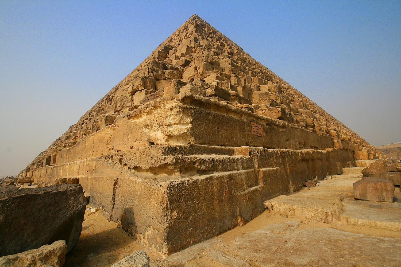 Pyramiden Bauzeit