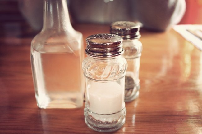 White Vinegar Solution