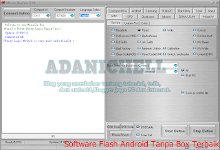 Software Flash Android Tanpa Box Terbaik