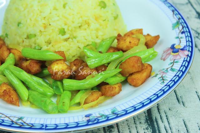 Resepi Nasi Goreng Ayam Kunyit Paling Senang