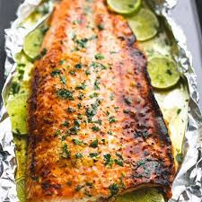 NINE SALMON RECIPES.