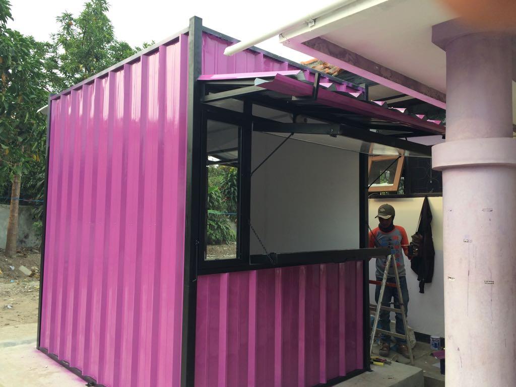 Kios Koprasi Puskeswan Cimahi Bandung Container