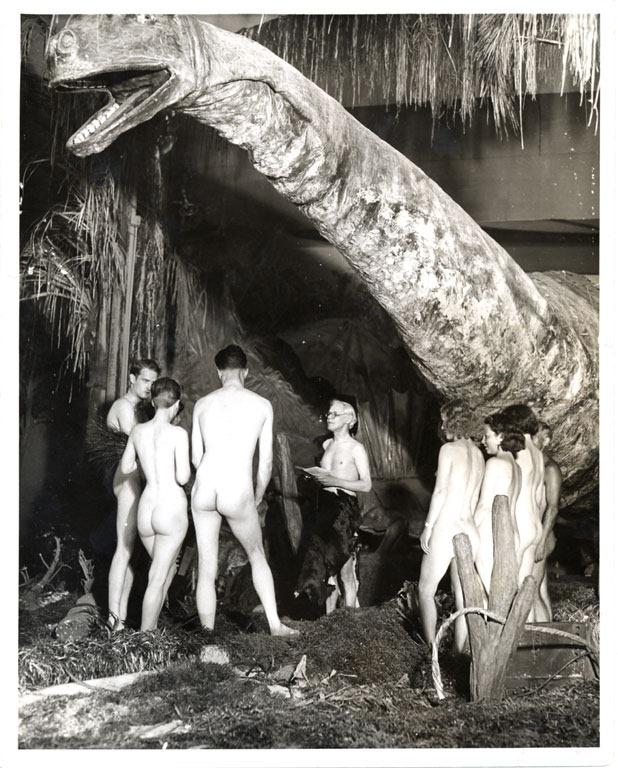 Vintage nudist colony photos