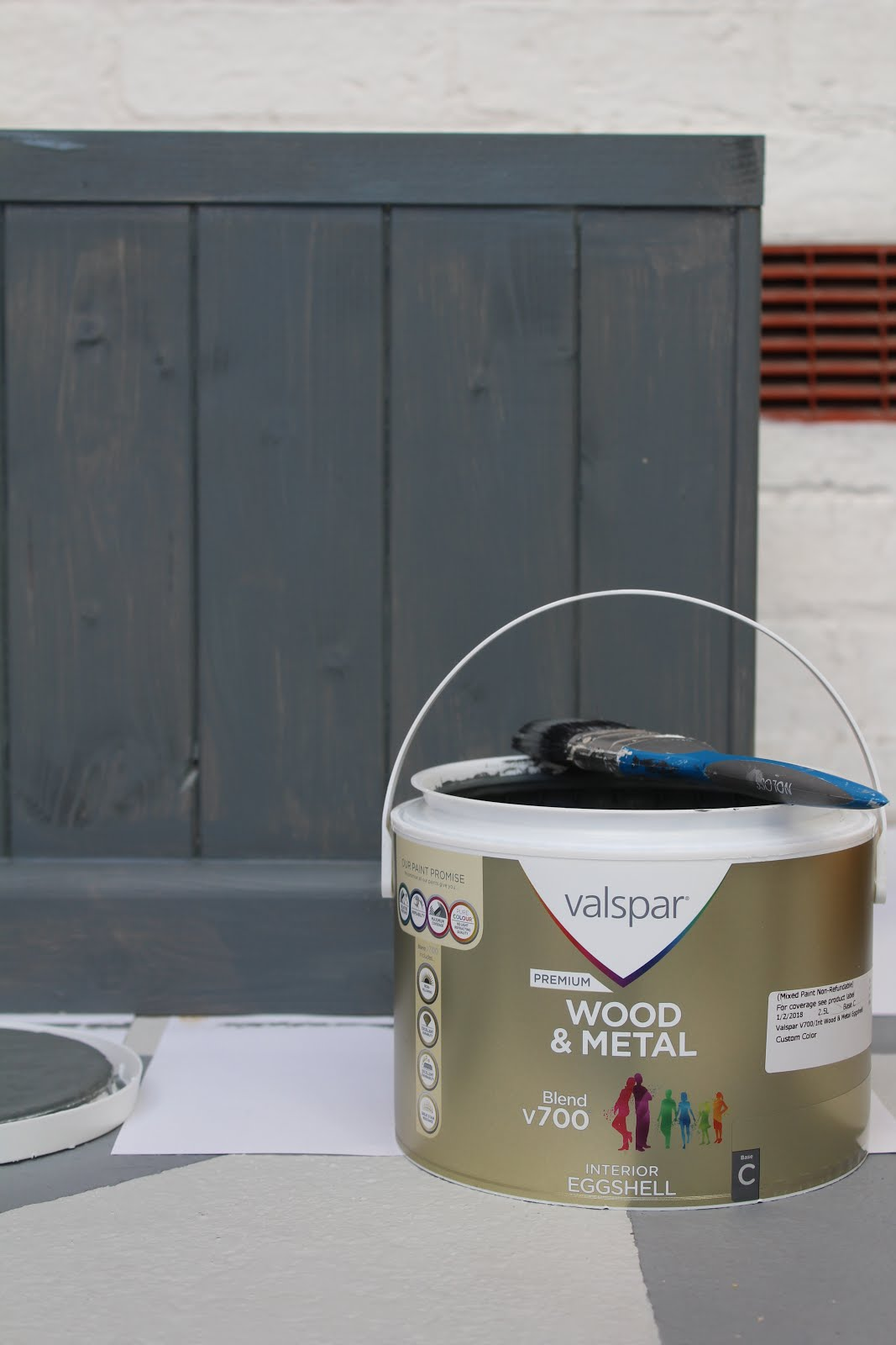 valspar wood and metal paint review