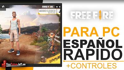 Descargar Free Fire para PC Sin Bluestacks - SIN LAG Español