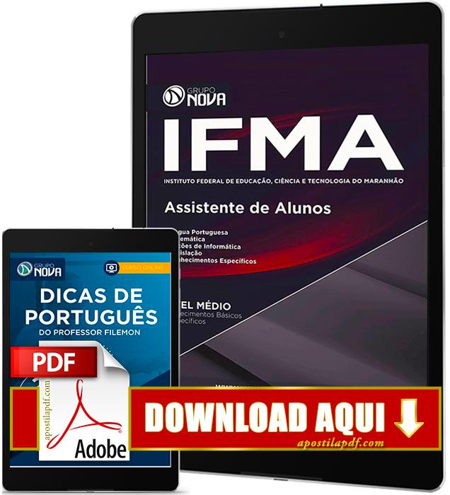 Apostila IFMA 2016 PDF Download Assistente de Alunos