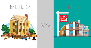 Build Your Own Home Vs. Buy A House