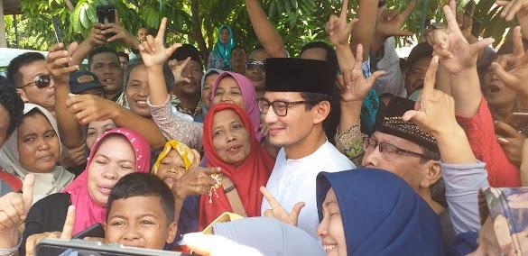 Sandiaga Uno Minta Pendukung 02 Tunggu Surat Wasiat Prabowo