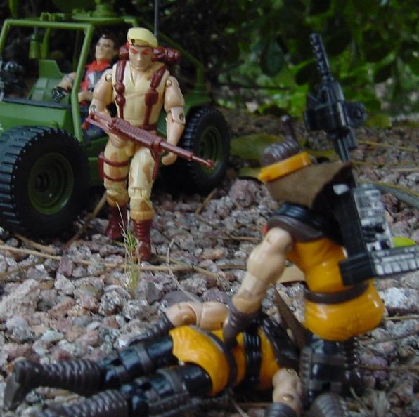 1991 Dusty, 2008 AWE Striker, Desert Scorpion, 1987 Mercer