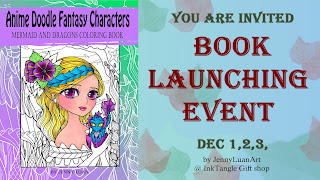 JennyLuanArt book launching event