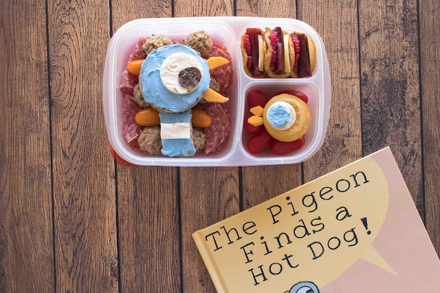 Mo Willems Pigeon Finds a Hot Dog Book Lunch Recipe Ideas!