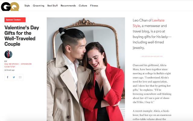 Alicia Mara and Leo Chan GQ Magazine Feature