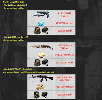Nhận AK47 Black Devil vĩnh viễn cực dễ
