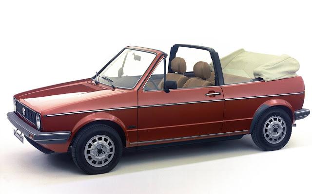 VW Golf Cabriolet 1987